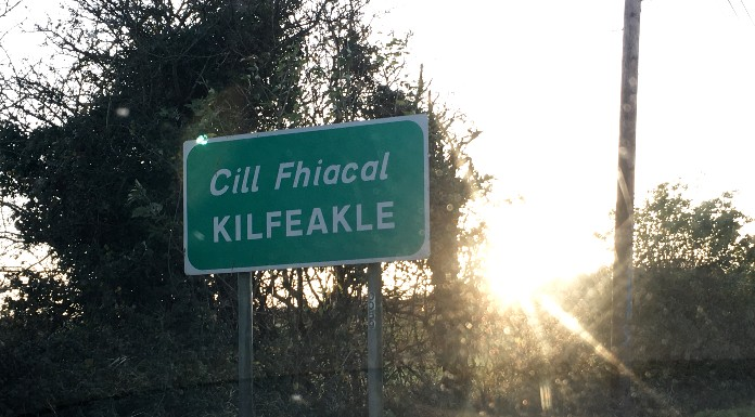 Kilfeacle sign | Photo (c) Tipp FM/MaryAnn Vaughan