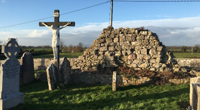Ruins of the original church from which it's believed Kilfeacle (Cill Fhiacal) got its name | Photo (c) Tipp FM/MaryAnn Vaughan